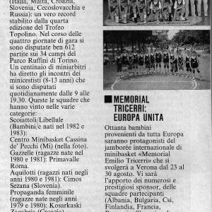 "1992 Da ""I Giganti del Basket"""